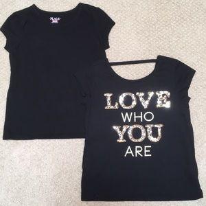 Children's Place Short Sleeve T-Shirts, Set of 2